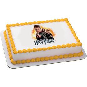 Harry Potter Quarter Sheet Edible Cake Topper (Each)
