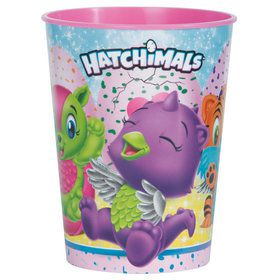 Hatchimals 16oz Plastic Favor Cup (1)