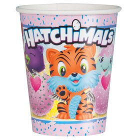 Hatchimals 9oz Paper Cups (8)