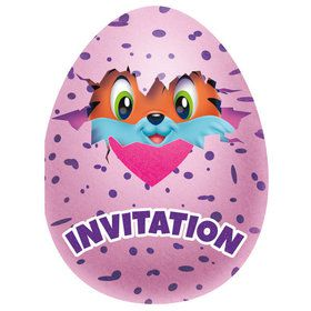 Hatchimals Invitations (8)