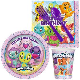 Hatchimals Standard Tableware Kit (Serves 8)