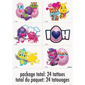 Hatchimals Tattoo Sheet (4)