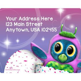 Hatching Animals Personalized Address Labels (Sheet of 15)