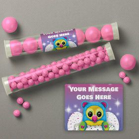 Hatching Animals Personalized Candy Tubes (12 Count)