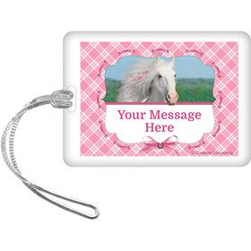 Heart My Horse Personalized Bag Tag (Each)