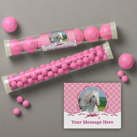 Heart My Horse Personalized Candy Tubes (12 Count)