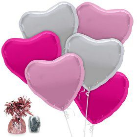 Hearts Balloon Kit (Each)