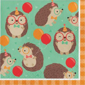 Hedgehog Lunch Napkins (16)
