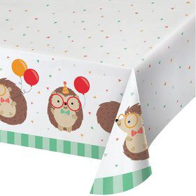 Hedgehog Paper Table Cover