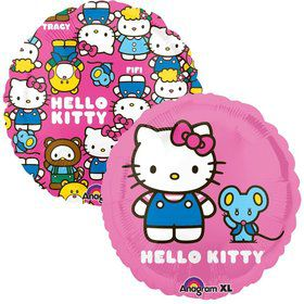 "Hello Kitty 18"" Balloon (Each)"