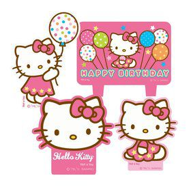 Hello Kitty Candle Set