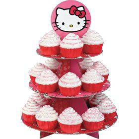 Hello Kitty Cupcake and Treat Stand (Each)