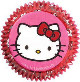 Hello Kitty Cupcake Baking Cups (50 Pack)