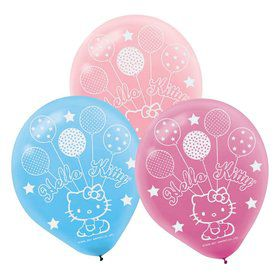 Hello Kitty Latex Balloons (6 PACK)