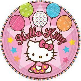 Hello Kitty Party Cake Plates (8-pack)