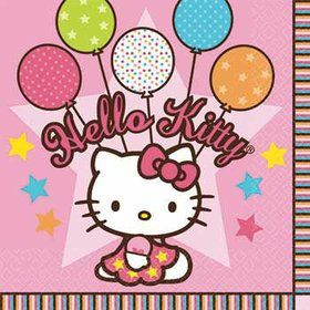 Hello Kitty Party Napkins (16-pack)