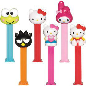 Hello Kitty Pez Dispenser and Candy Set (Each)