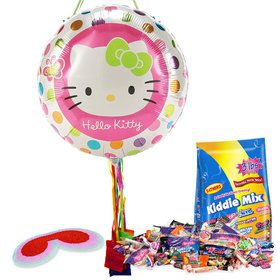 Hello Kitty Pull String Economy Pinata Kit