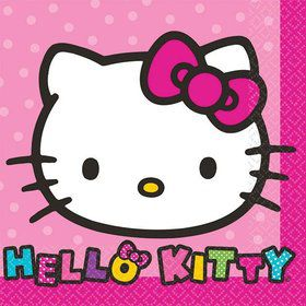 Hello Kitty Rainbow Beverage Napkins (16 Pack)