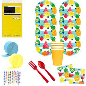 Hello Summer Deluxe Tableware Kit (Serves 8)