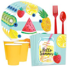 Hello Summer Standard Tableware Kit (Serves 8)