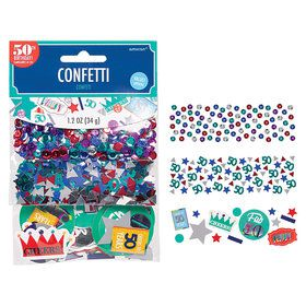 Here's to Your 50th Birthday Confetti Mix