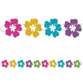 Hibiscus 9ft. Prismatic Foil Ring Garland (Each)