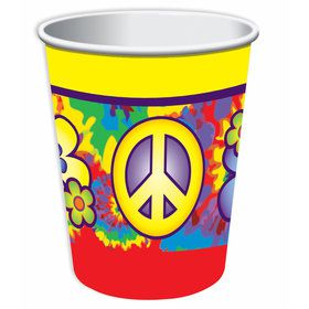 Hippie 9oz Cups (8 Count)