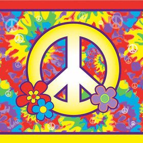 Hippie Luncheon Napkins (16 Count)