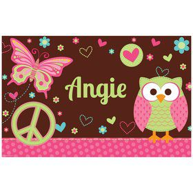 Hippie Chick Personalized Placemat (each)
