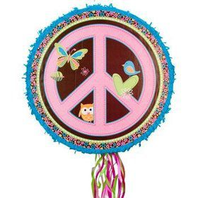 Hippie Girl Pinata (each)