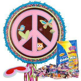 Hippie Girl Pinata Kit