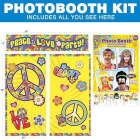 Hippie Photo Booth Kit