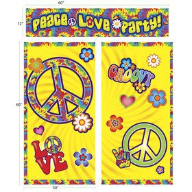Hippie Wall Decoration Kit