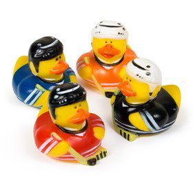 "Hockey 2"" Rubber Duckies (12 Count)"