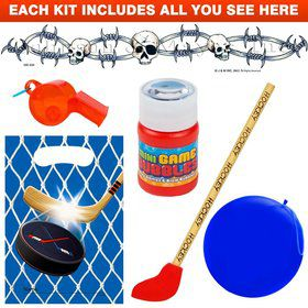 Hockey Party Favor Kit
