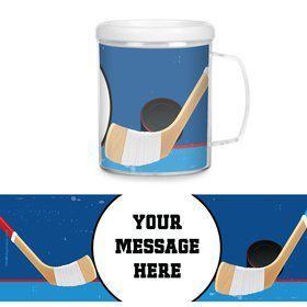Hockey Party Personalized Favor Mugs (Each)