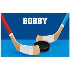 Hockey Party Personalized Placemat (each)