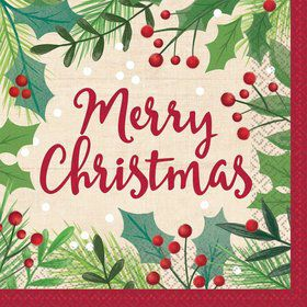 Holiday Lunch Napkins (16)