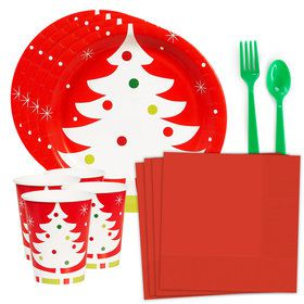 Holiday Tree Standard Tableware Kit (Serves 8)