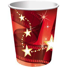 Hollywood Lights 9oz Cups (8 Count)