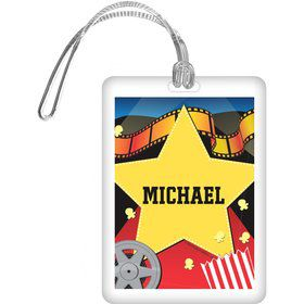 Hollywood Personalized Bag Tag (each)