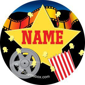 Hollywood Personalized Mini Stickers (Sheet of 20)