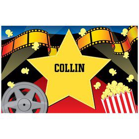 Hollywood Personalized Placemat (each)