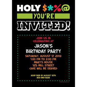 Holy Bleep Invitation (Each)