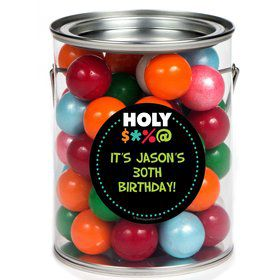 Holy Bleep Paint Can Favor Container (6 Pack)