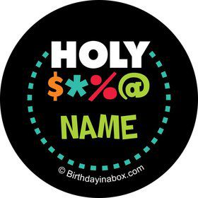 Holy Bleep Personalized Mini Stickers (Sheet of 20)