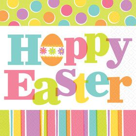Hoppy Easter Lunch Napkin (36)