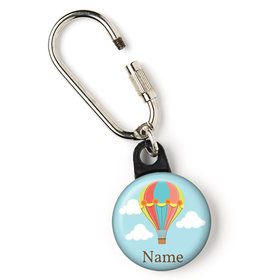 "Hot Air Balloon Personalized 1"" Carabiner (Each)"