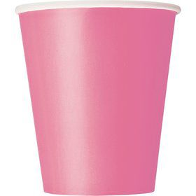 Hot Pink 9oz Cups (14 Count)